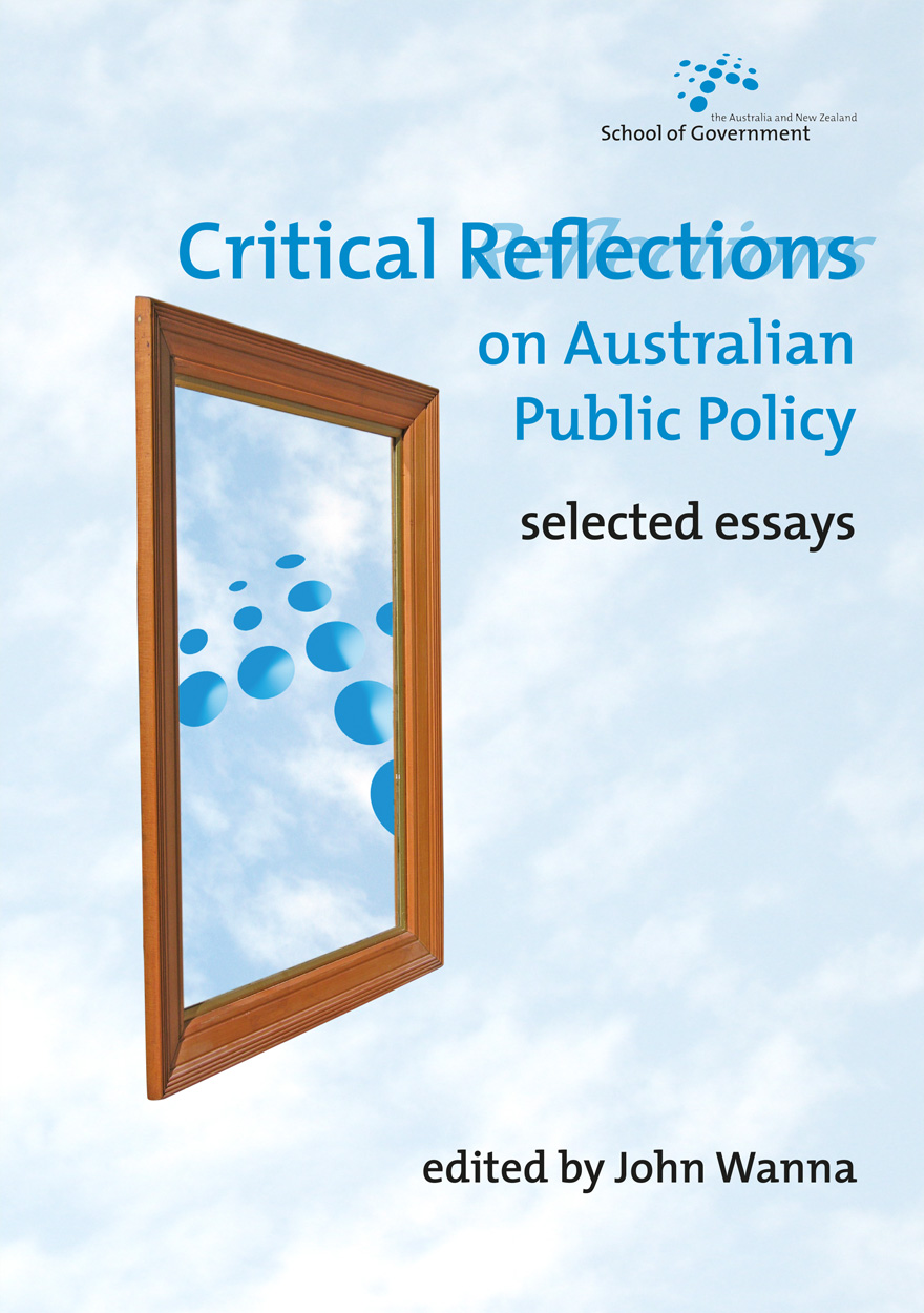 Critical Reflections on Australian Public Policy