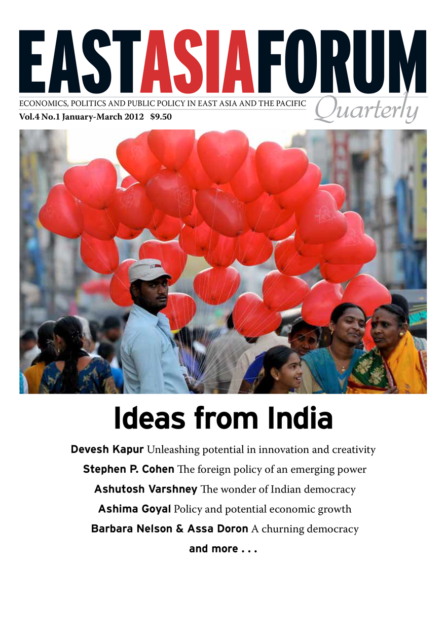 East Asia Forum Quarterly: Volume 4, Number 1, 2012