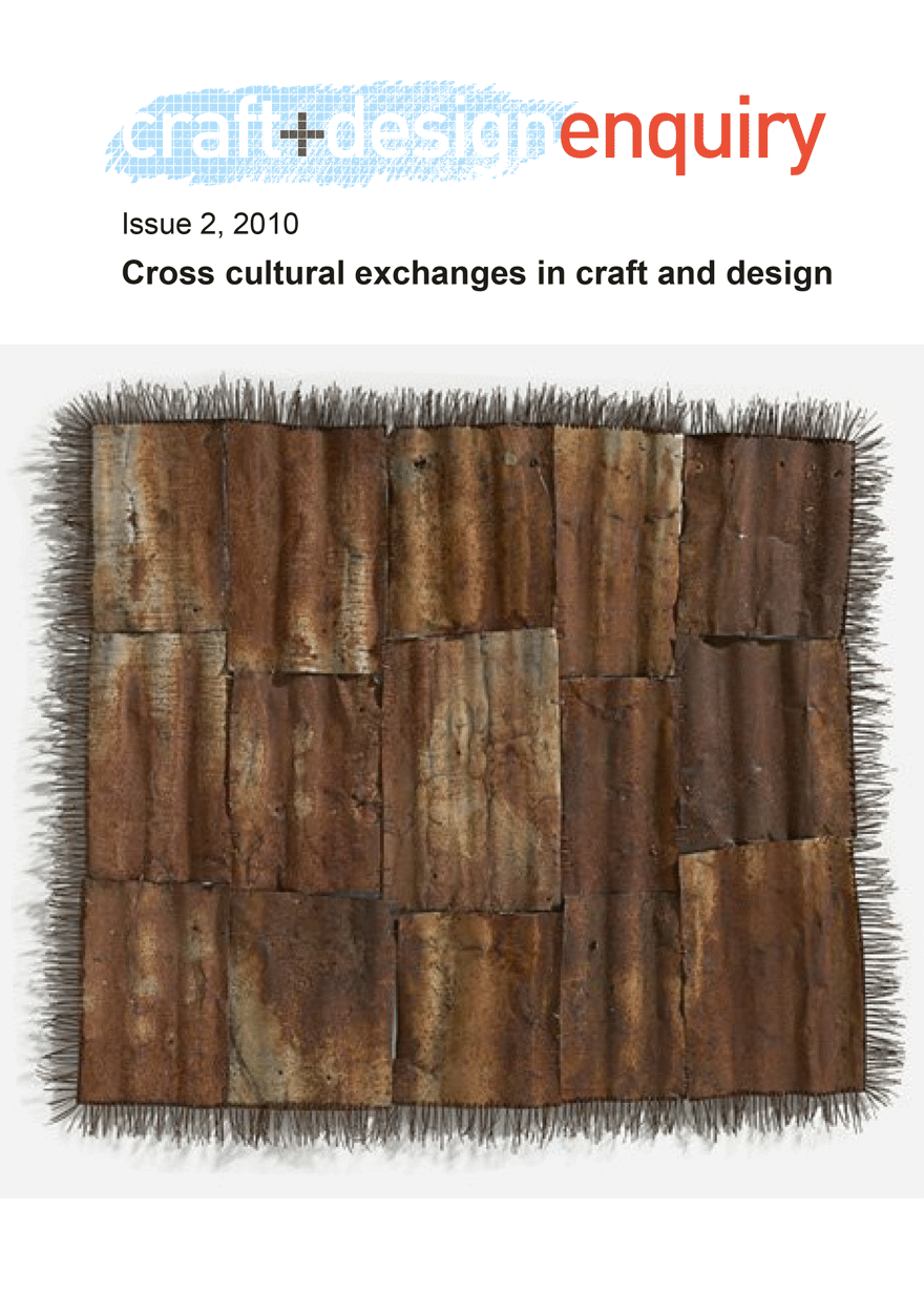 craft + design enquiry: issue 2, 2010