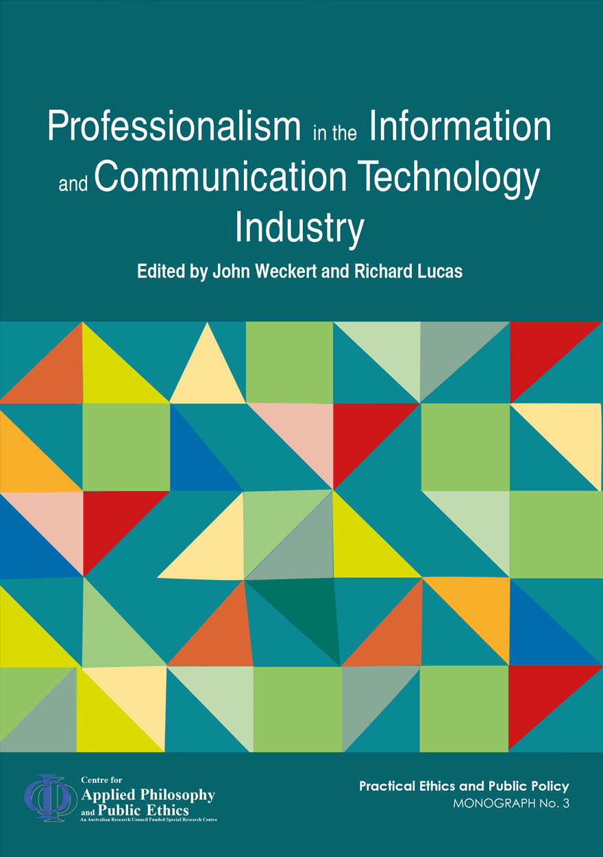 Professionalism in the Information and Communication Technology Industry
