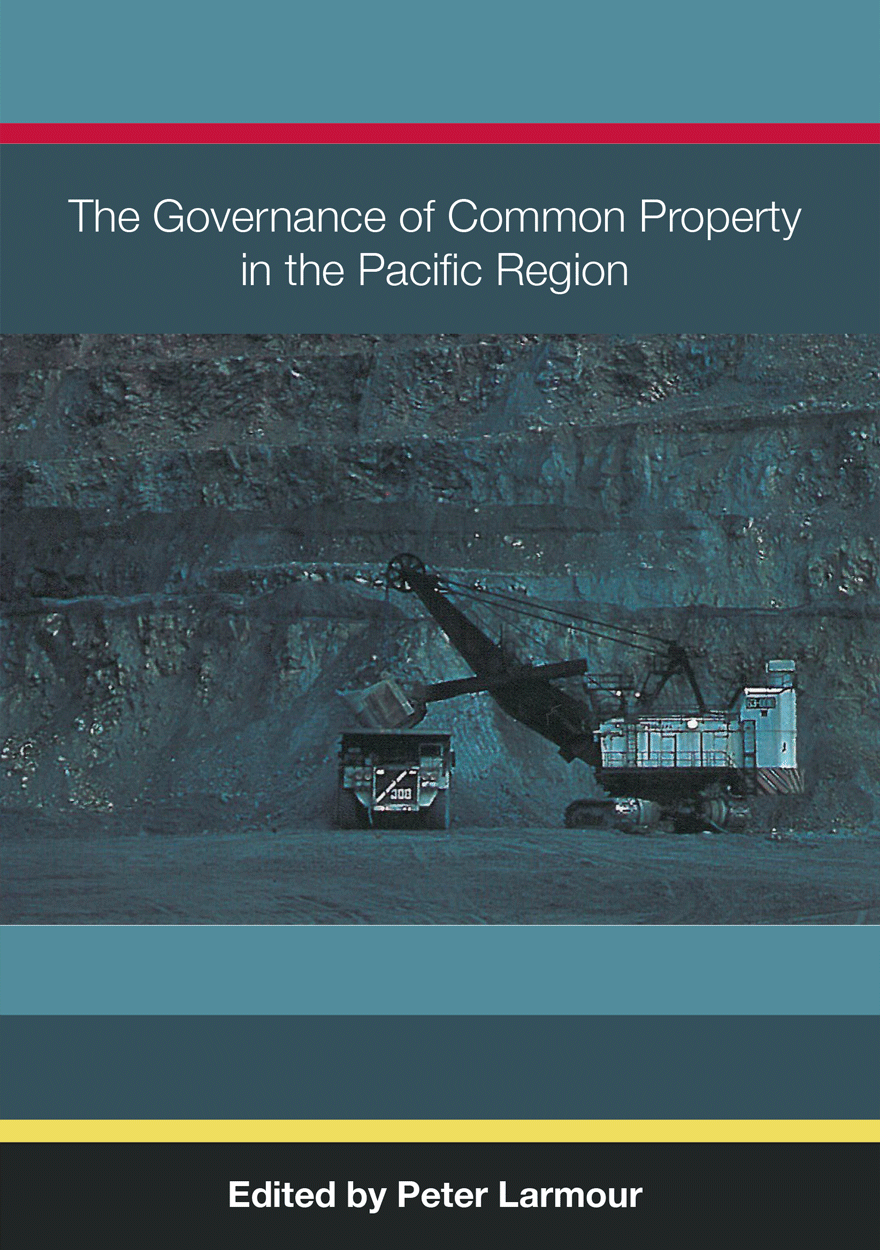 The Governance of Common Property in the Pacific Region