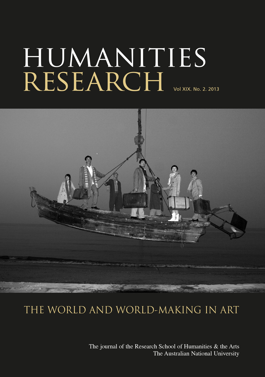 Humanities Research Journal Series: Volume XIX No. 2. 2013