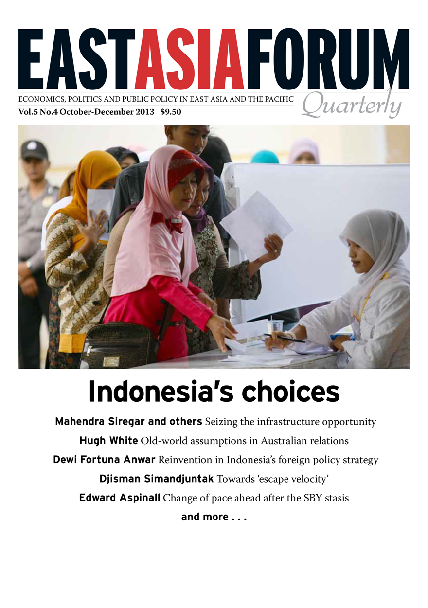 East Asia Forum Quarterly: Volume 5, Number 4, 2013