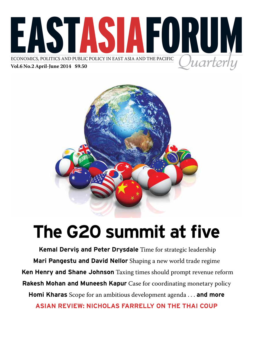 East Asia Forum Quarterly: Volume 6, Number 2, 2014