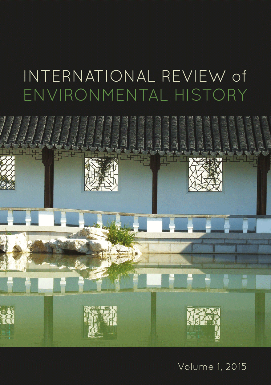 International Review of Environmental History: Volume 1, 2015