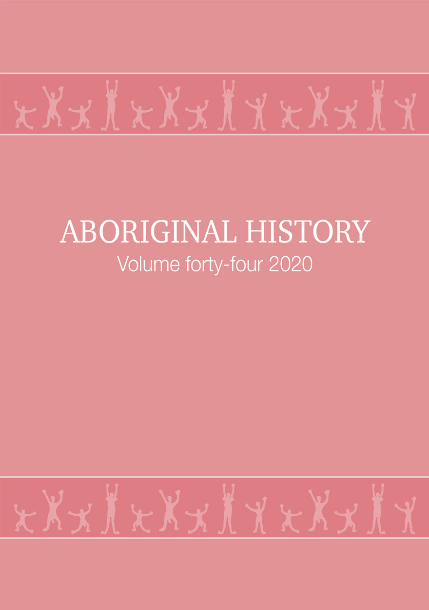 Aboriginal History Journal: Volume 44