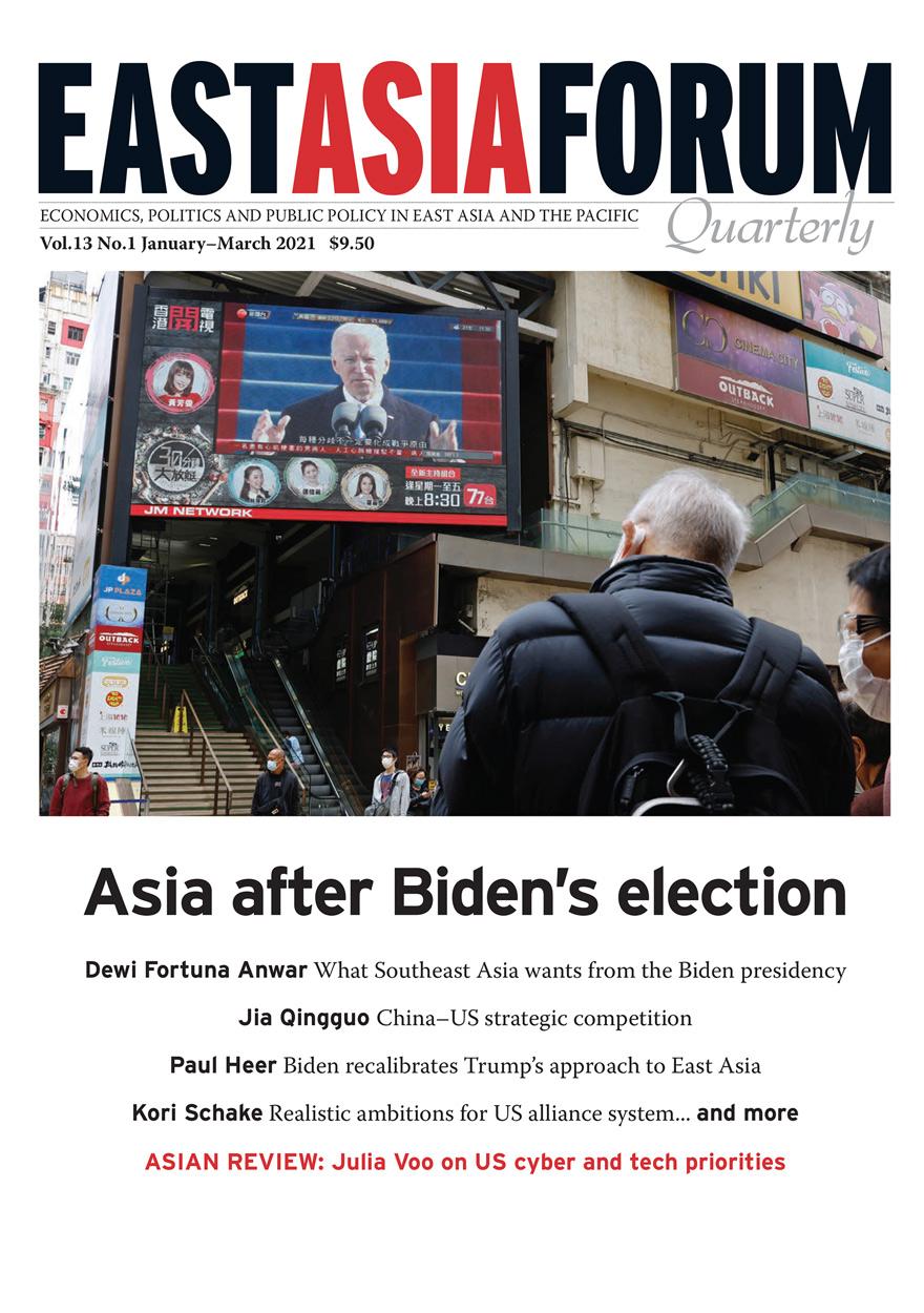 East Asia Forum Quarterly: Volume 13, Number 1, 2021
