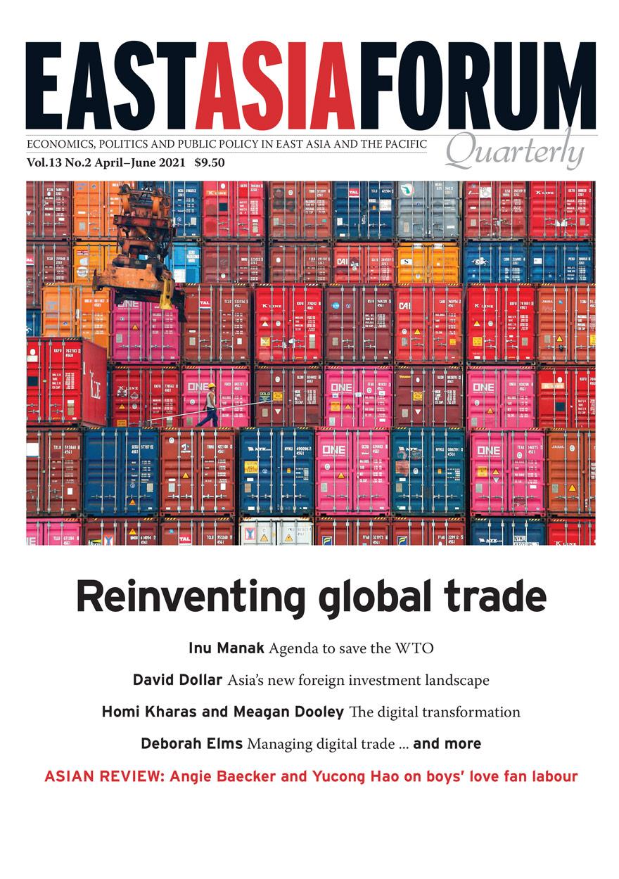 East Asia Forum Quarterly: Volume 13, Number 2, 2021