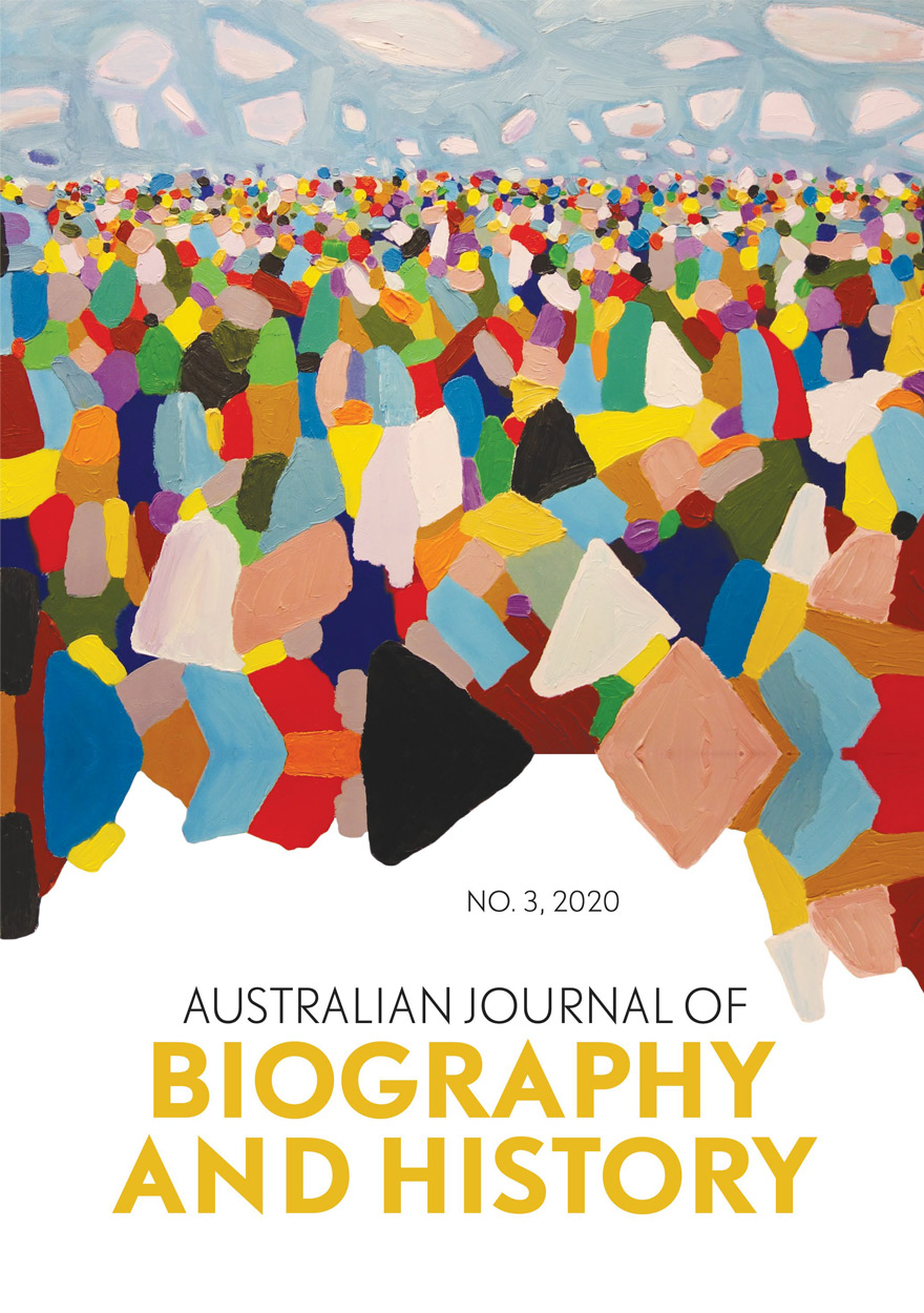 Australian Journal of Biography and History: No. 3, 2020