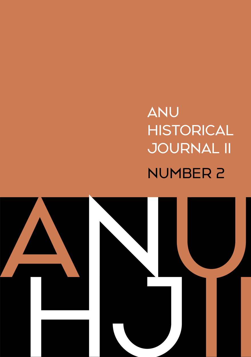 ANU Historical Journal II: Number 2