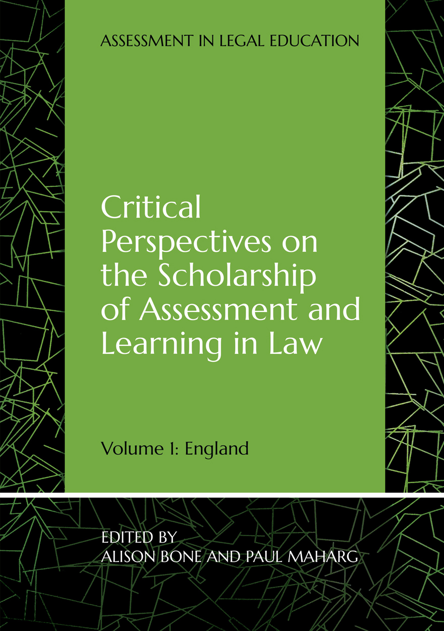 Critical Perspectives on the Scholarship of Assessment and Learning in Law
