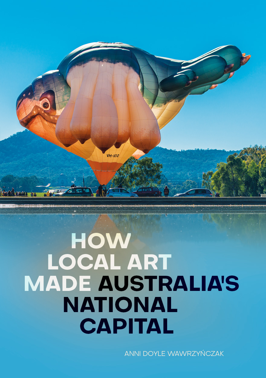 How Local Art Made Australia's National Capital