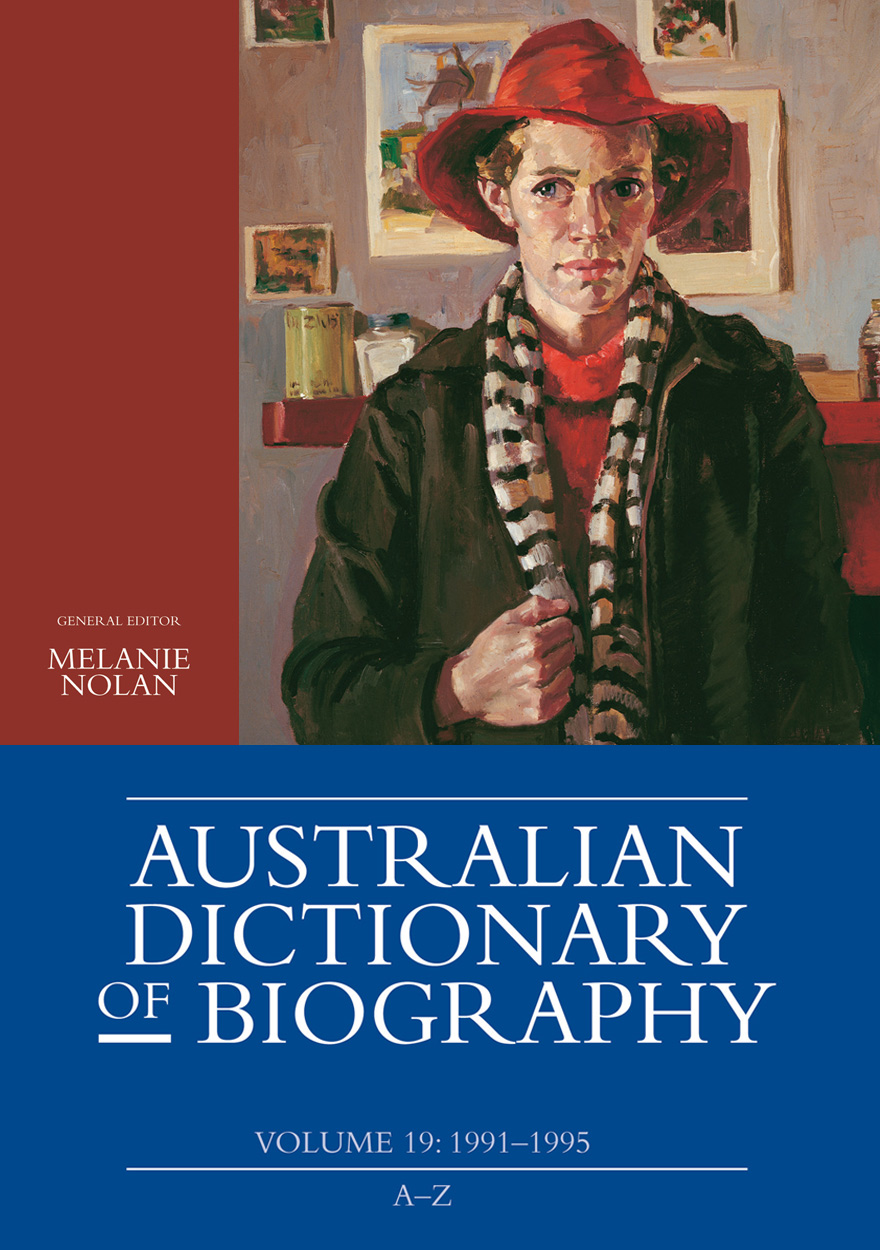 Australian Dictionary of Biography, Volume 19