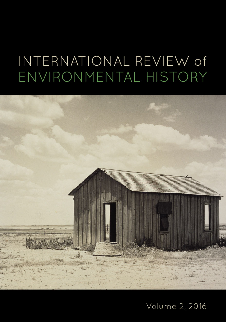 International Review of Environmental History: Volume 2, 2016